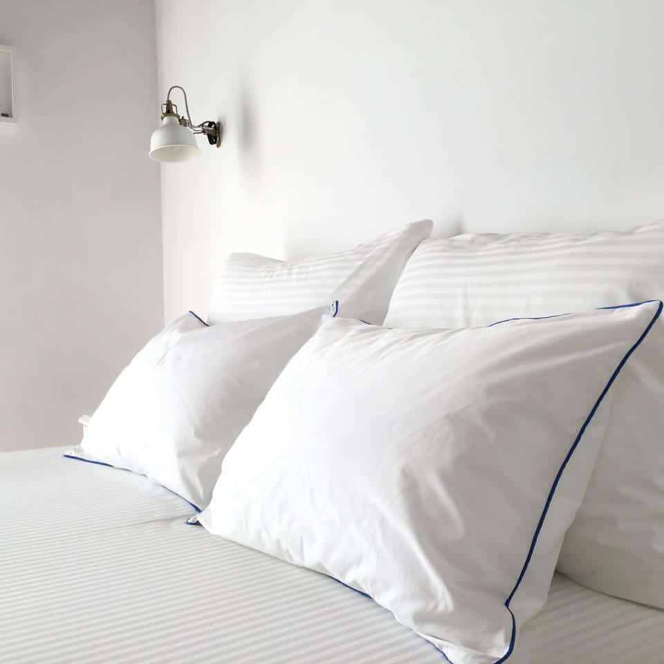 Pillow Menu - Select the type of pillow you desire