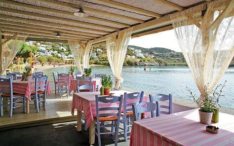 Loukia Studios and Suites Kini Syros - restaurant