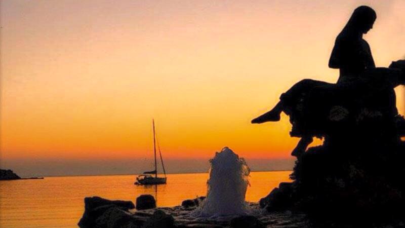 Loukia Studios and Suites Kini Syros - sunset
