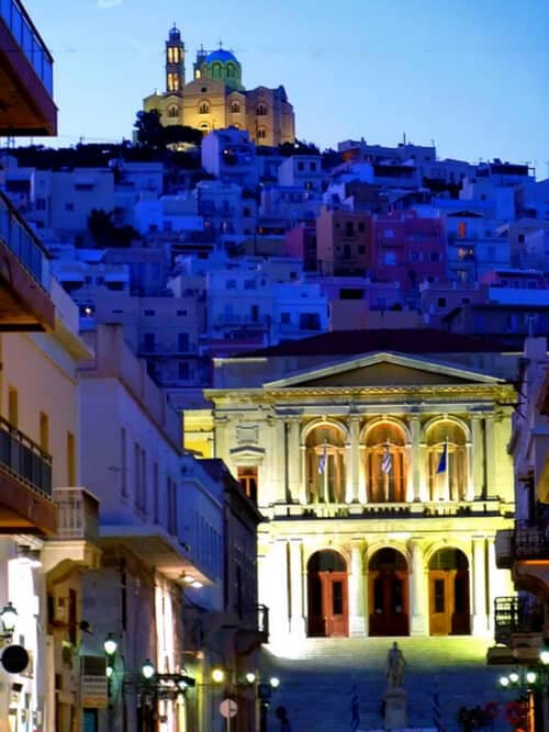 Loukia Studios and Suites Kini Syros - Miaouli Square